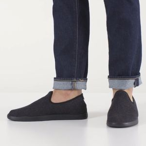Allbirds Men's Charcoal Gray Wool Loungers Shoes